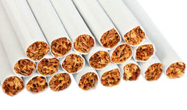 Heap of cigarettes Stock Photo