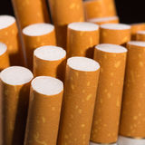 Heap of cigarettes Stock Photos