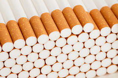 Heap of cigarettes Stock Photography