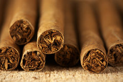 Heap of cigars Stock Images
