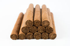 Heap of cigars Royalty Free Stock Images