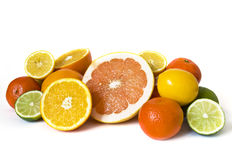 Heap of citrus Stock Photo