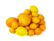 A heap of citrus fruits Royalty Free Stock Images