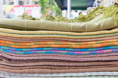 Heap of cloth fabric Royalty Free Stock Image