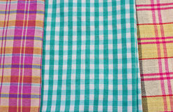 Heap of cloth fabrics Royalty Free Stock Photos