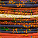 Heap of cloth fabrics Stock Photography