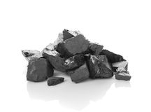 Heap of coal Stock Photo