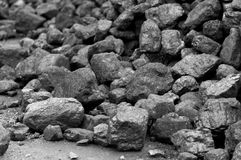 Heap of coal Stock Photo