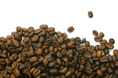 Heap of coffee beans Royalty Free Stock Photos