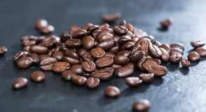 Heap of Coffee Beans Stock Images