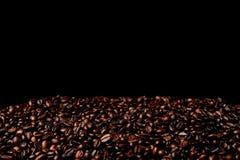 Heap coffee beans. Stock Photos