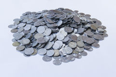 Heap of coins. Heap of Indian coins showing economic growth Royalty Free Stock Images