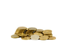 Heap of coins Royalty Free Stock Images