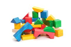 Heap of color blocks Royalty Free Stock Photo