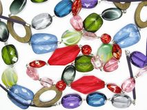 Heap of colored beads Stock Photography