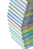 Heap of colorful books Stock Image