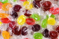 Heap of colorful candies as background, too many sweets Royalty Free Stock Images
