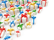 Heap of Colorful Gift Boxes Royalty Free Stock Photos