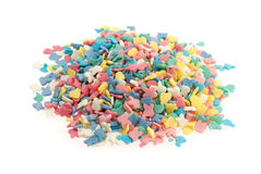 Heap of colorful sweets Stock Photography