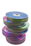 Heap of compact disk Royalty Free Stock Image