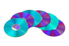 Heap of computer disks Stock Photography