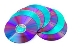Heap of computer disks Royalty Free Stock Photos