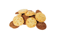 Heap of cookies Royalty Free Stock Photos