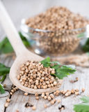Heap of Coriander (seeds) Stock Photography