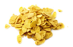 Heap of corn flakes Royalty Free Stock Photos