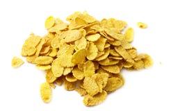 Heap of corn flakes Royalty Free Stock Photos