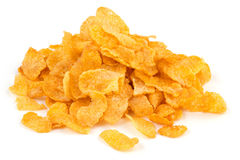 Heap of corn flakes Royalty Free Stock Photo