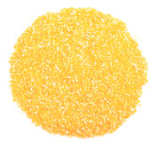 Heap of cornmeal Stock Photography