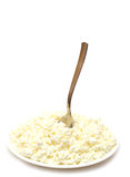 Heap of cottage cheese Royalty Free Stock Photos