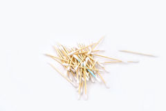 Heap of cotton sticks Stock Image