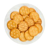 Heap of crackers Stock Photo