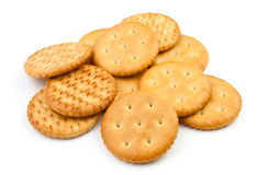 Heap of crackers Stock Images