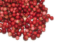 Heap of cranberry Stock Photo