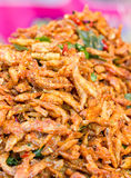 Heap Of Crispy Fried Fish. Royalty Free Stock Photo
