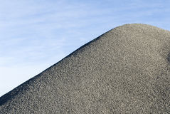 Heap of crusch gravel Royalty Free Stock Image