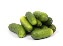 Heap of cucumbers Royalty Free Stock Image