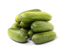 Heap of cucumbers Royalty Free Stock Images