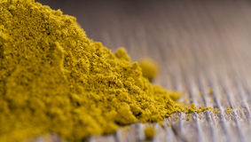 Heap of Curry Powder Royalty Free Stock Photography
