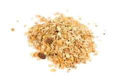 Heap of delicious muesli Royalty Free Stock Images