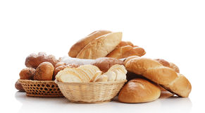 Heap of different bread Stock Photography