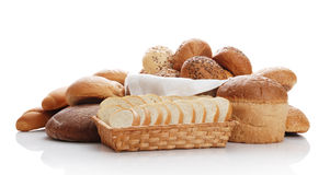 Heap of different bread Stock Photos