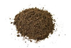 Heap of dirt Royalty Free Stock Photos
