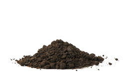 Heap dirt Royalty Free Stock Photography