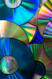 Heap of Disks. Heap of Compact Disc Background Stock Images