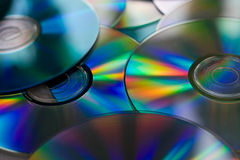 Heap of Disks. Heap of Compact Disk Background Royalty Free Stock Images