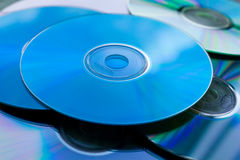 Heap of Disks. Heap of Compact Disk Background Royalty Free Stock Photos